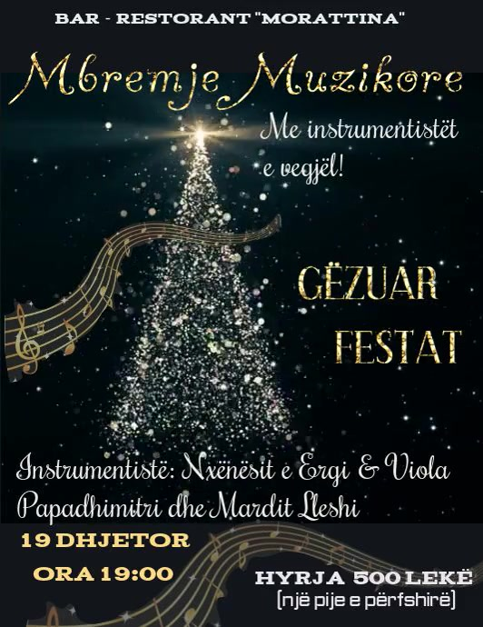 Christmas Concerts Near Me.Copy Of Christmas Concert Video Flyer Postermywall
