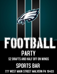 eagles footbal party bar