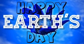 Earth's Day Facebook Template