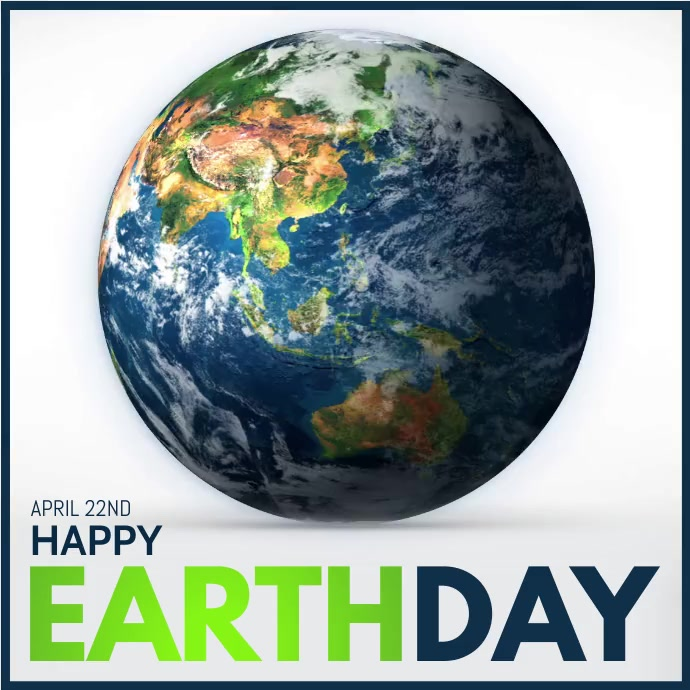 Earth Day, Earth Awareness Day, Save Earth Instagram Post template