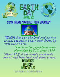 Earth Day 2019 Protect Our Species