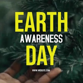 EARTH DAY AD ADS ADVERT SOCIAL MEDIA Instagram Post template