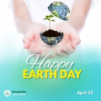 Earth Day Advert Pos Instagram template