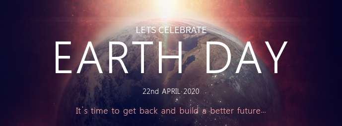 Earth Day Celebration Cover Photo Template Foto Sampul Facebook