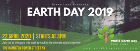 Earth Day Event Announcement Banner