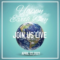 Earth Day Event Social Media Ad