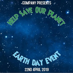 Earth Day Event Video Template