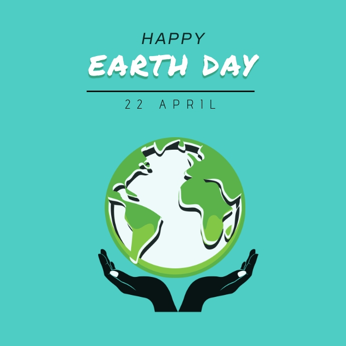 EARTH DAY Instagaram post template