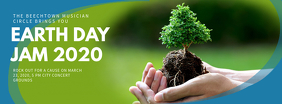 Earth Day Jam Facebook Cover Photo Template