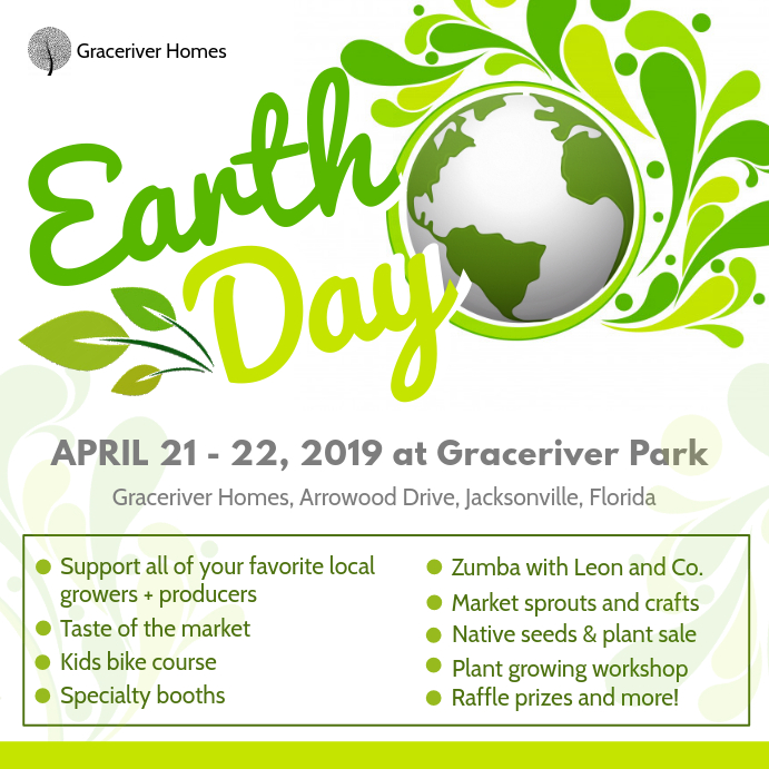 Earth Day Park Event Ad