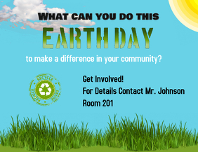 Customizable Design Templates for Earth Day Flyer | PosterMyWall