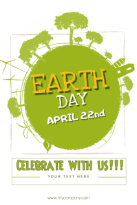 Environment poster templates postermywall earth day yelopaper Image collections