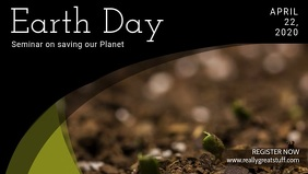 Earth Day Seminar Video Ad Template