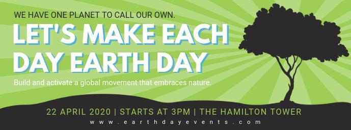 Earth Day Slogan Banner