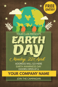earth day template,environmental template,event template