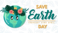 Earth day template Blog-Kopfzeile