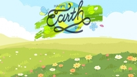 Earth Day Template Facebook-omslagvideo (16: 9)