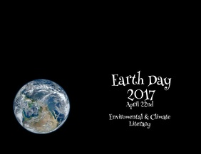 Earth Day Video Flyer
