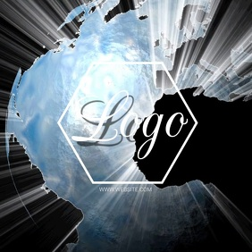 EARTH GLOBE WORLD logo design Template