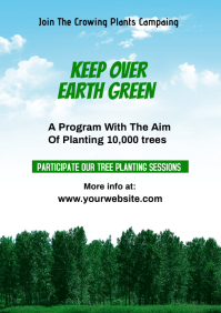 EARTH GREEN A4 template