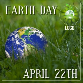 EARTH GREEN LOGO DESIGN TEMPLATE