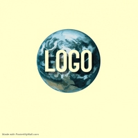 EARTH LOGO SPHERE CIRCLE DESIGN TEMPLATE