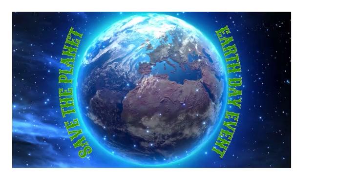 earth Revolving earth template
