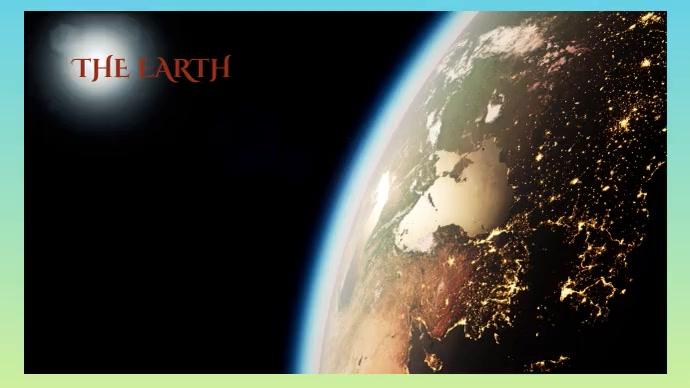 earth Revolving earth Foto Sampul Saluran YouTube template