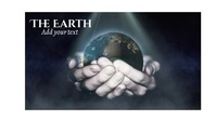 earth Revolving earth ภาพปก YouTube Channel template