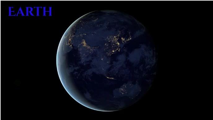 earth Revolving earth Miniatura de YouTube template