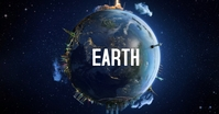 earth tech statue building cities country auf Facebook geteiltes Bild template