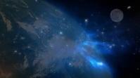 GRUMPY night sky Digital Display (16:9) template