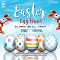 easter, event, spring, party Square (1:1) template