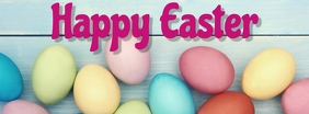 easter, event, spring, party Facebook Cover Photo template