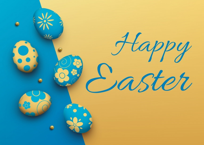 easter, event, spring, party ไปรษณียบัตร template