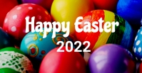 easter, event, spring, party Facebook-gebeurtenisomslag template
