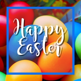 easter,event, party Instagram Post template