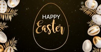 easter,happy easter Reklama na Facebooka template