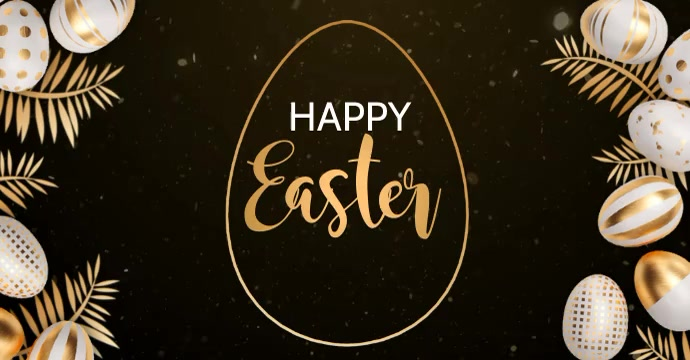 easter,happy easter Facebook Ad template