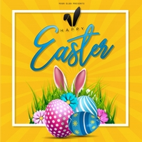 Easter , Egg hunt , Party Instagram 帖子 template