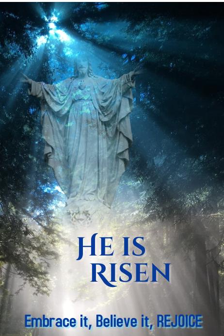 Easter /Risen Poster Template