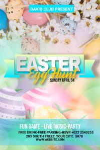 Easter Banner Design 2021 template