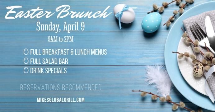 Easter Brunch 2021 - G Facebook Event Cover template