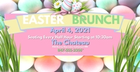 Easter Brunch 2FB Facebook Event Cover template