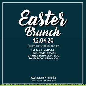 Easter Brunch Breakfast Buffet Video Advert