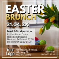 Easter Brunch Buffet Breakfast Ostern Video