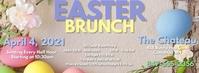 Easter Brunch fb Couverture Facebook template