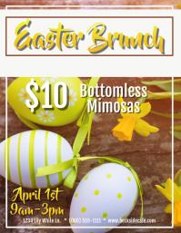Easter Brunch Mimosa Flyer