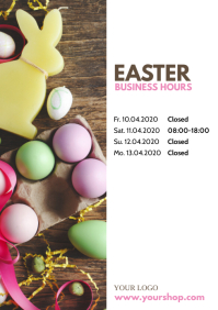 Easter Business Hours Times Customer Info
