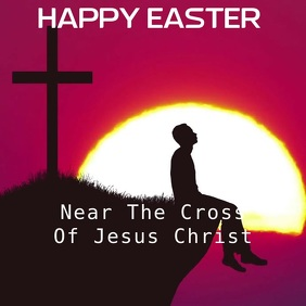Easter Card Video With Audio Template